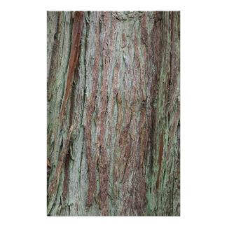 Tree Bark Stationery