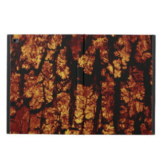 tree bark structure, brown powis iPad air 2 case