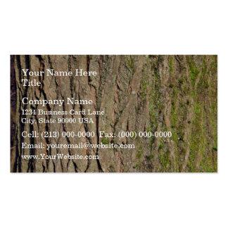 Tree Bark Texture Business Card