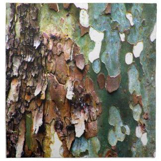 Tree Bark Texture Cloth Napkins