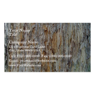 Tree Bark Texture Detail Business Card