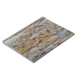 Tree Bark Texture Detail Spiral Notebook
