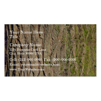 Tree Bark Texture Double-Sided Standard Business Cards (Pack Of 100)