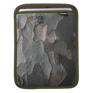 Tree bark texture sleeve for iPads