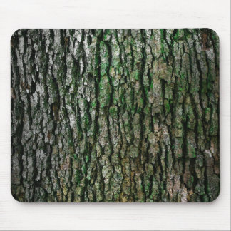 Tree bark texture mouse pad