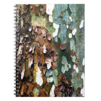 Tree Bark Texture Notebook
