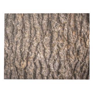 Tree Bark Texture Notepad