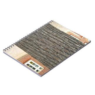 Tree Bark Texture Spiral Notebook