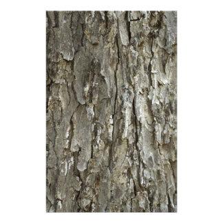 Tree Bark Texture Stationery