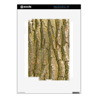 Tree Bark Texture Vertical Decals For The iPad 2