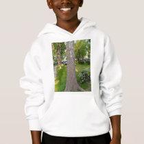 Tree Bark Texture Vertical Hoodie