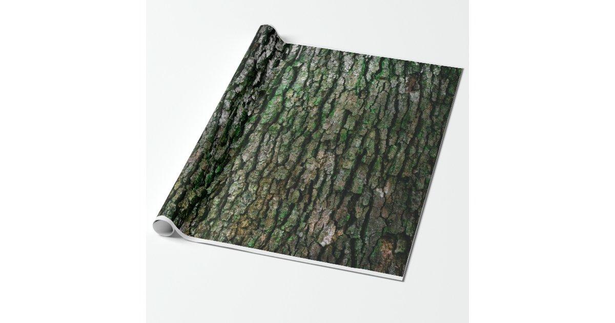 Tree Bark Texture Wrapping Paper Zazzle Com