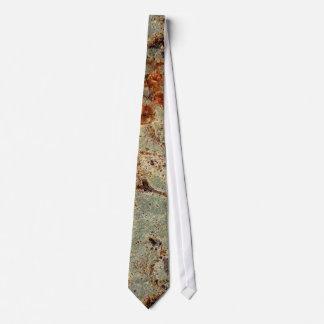 Tree Bark Theme Neck Tie