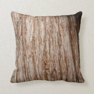 "Tree Bark, Throw Pillow 16"" x 16"""