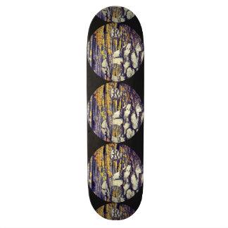 Tree Bark Yin Yang Skateboard