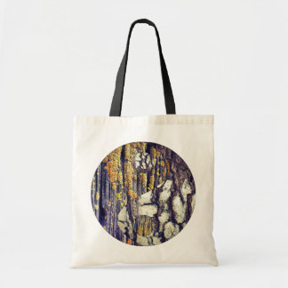 Tree Bark Yin Yang Tote Bag