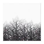 Tree Beams Canvas Prints