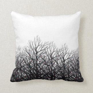 Tree Beams Throw Pillow