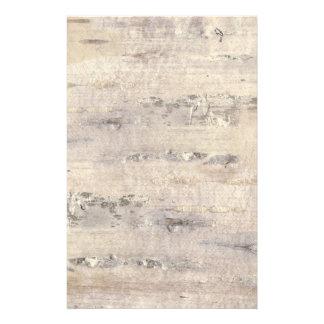 Tree Birch Bark White Felt Paper
