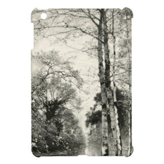 Tree Birch Vintage Nature Branches Munthe Graphic iPad Mini Covers
