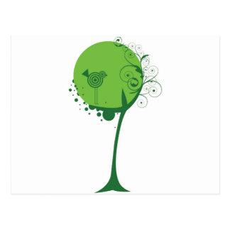 Tree Bird Postcard