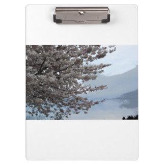 Tree Blossom Art White Clipboard