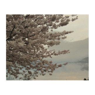 Tree Blossom Art Wood Canvas