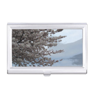 Tree Blossom Business Card Holder
