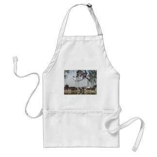 Tree Blossom in China Adult Apron