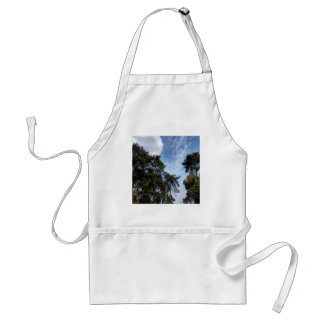 Tree Blue Pines Apron