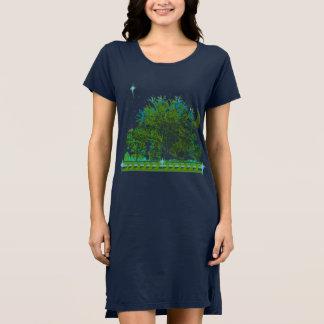 Tree Blues Dress