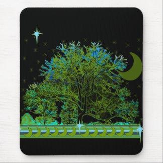 Tree Blues Mouse Pad