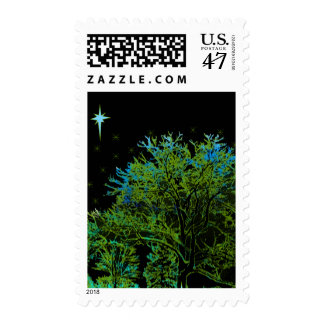 Tree Blues Postage