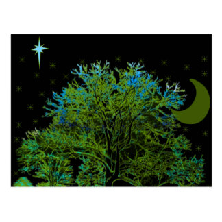 Tree Blues Postcard