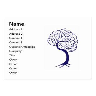 Tree brain business cards