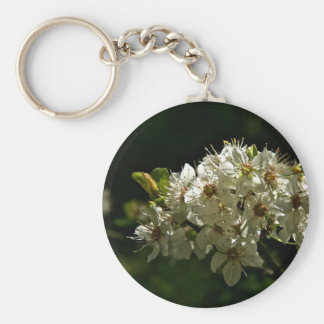 TREE BRANCH IN SPRING BLOOM KEYCHAINS