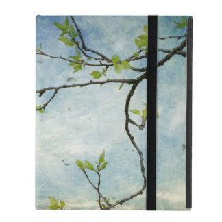 Tree Branch Over Textured Sky iPad Folio Case