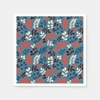 Tree Branch Pattern Paper Napkin