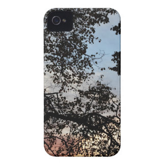 Tree Branch Silhouette iPhone 4 Case-Mate Cases