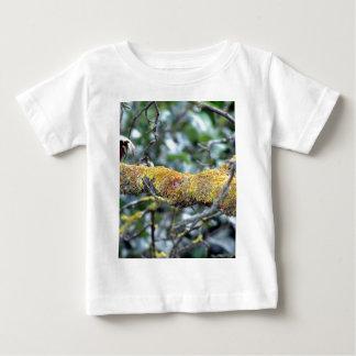 Tree branch with moss fungus tshirt