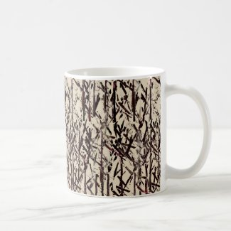 Tree Branches Abstract Coffee Mug