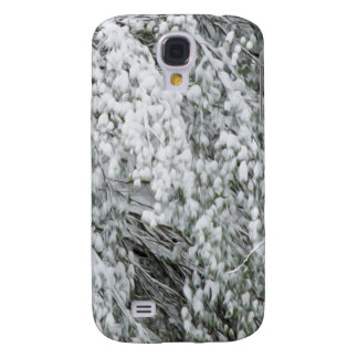 Tree branches after heavy snowfall galaxy s4 cover