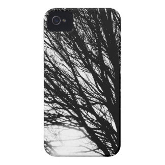 Tree Branches and Light Black and White iPhone 4 Case-Mate Case