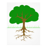 Tree Branches and Roots Full Color Flyer