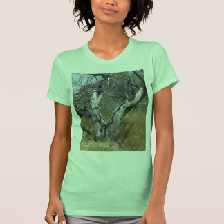 Tree Branches: Angel Live Oak Tree, Southern Texas T-shirts