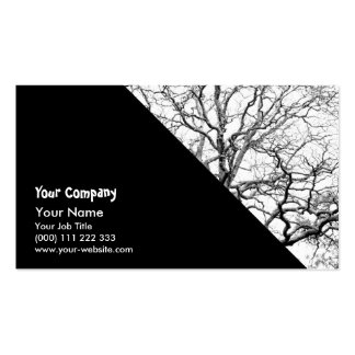 Tree branches business card