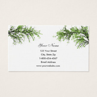 Tree Branches Business Cards