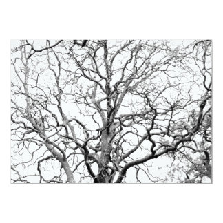 Tree branches card