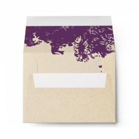 tree branches envelopes for wedding RSVP cards