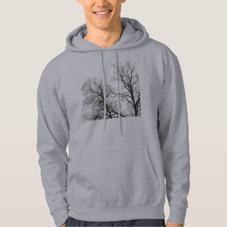 Tree Branches in Silhouette Nature-lover's Hoodie